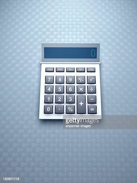 Business calculator from above