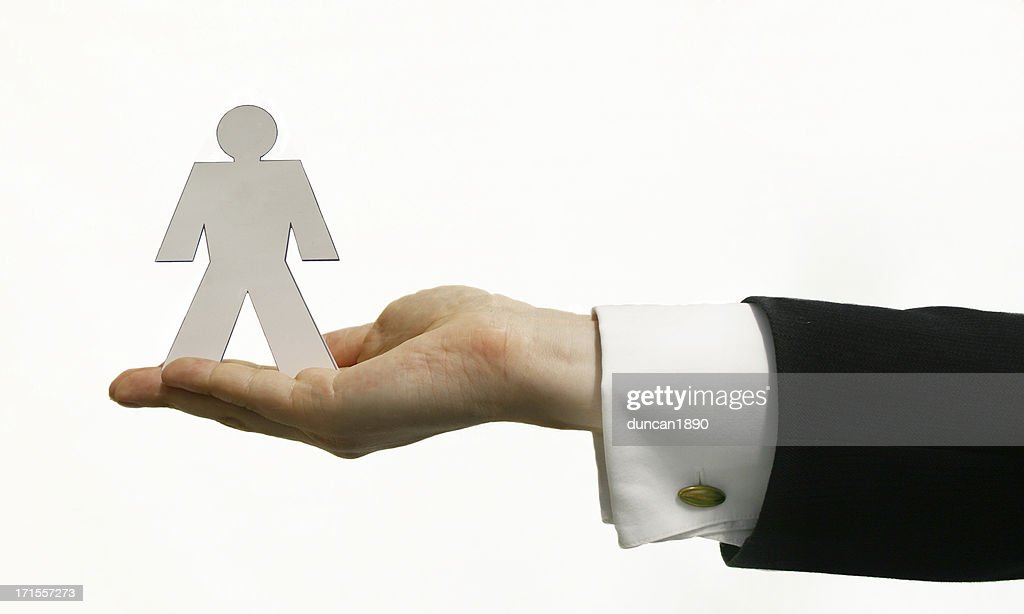Business Card Man Stock Photo | Getty Images