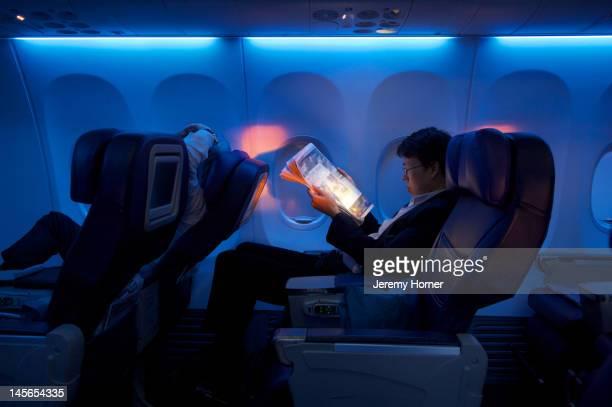 Business class air passenger