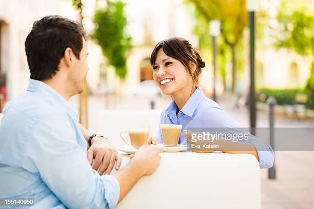お仕事仲間とコーヒーブレークが