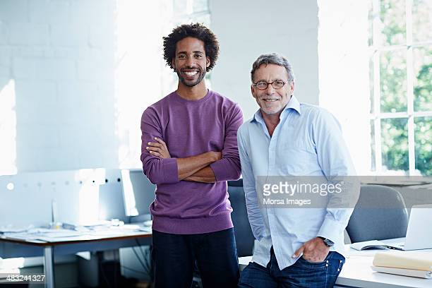 business colleagues in bright office - two people stock pictures, royalty-free photos & images