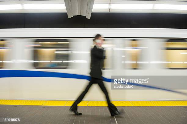 Business Commuter Abstract