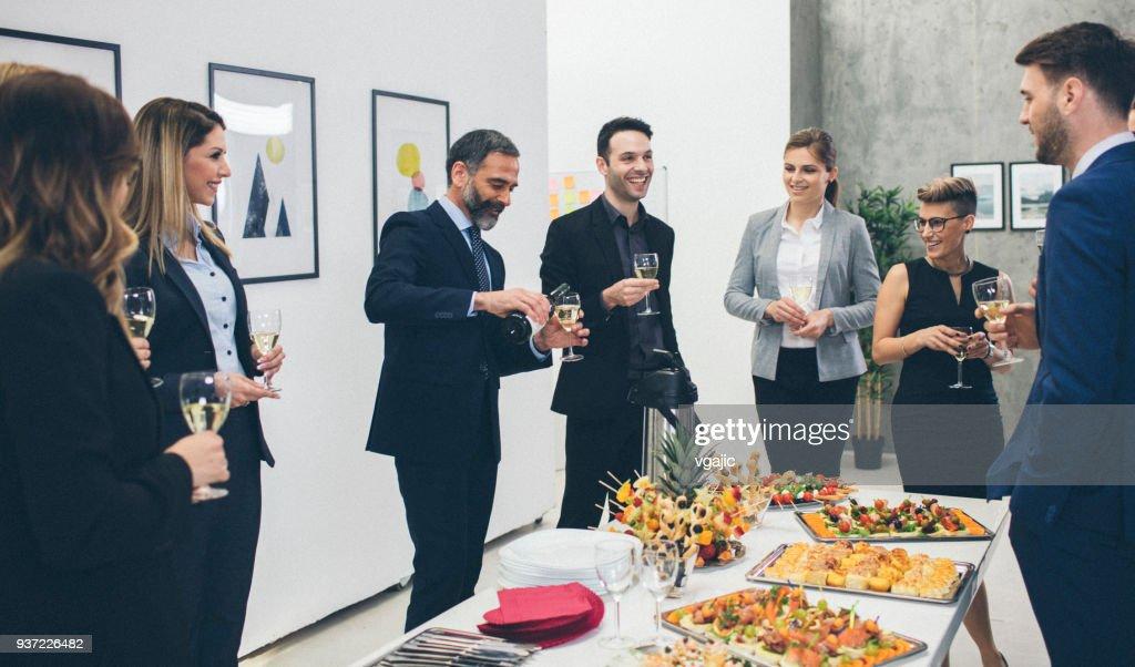 Zakelijke bijeenkomst en gebeurtenis : Stockfoto