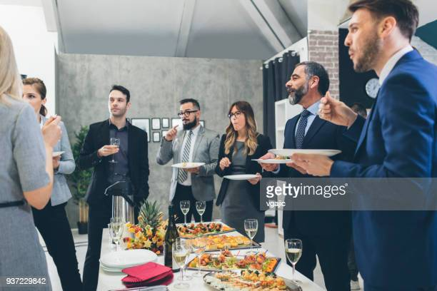 business conference and event - buffet stock pictures, royalty-free photos & images