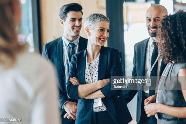 business conference - business relationship stock pictures, royalty-free photos & images