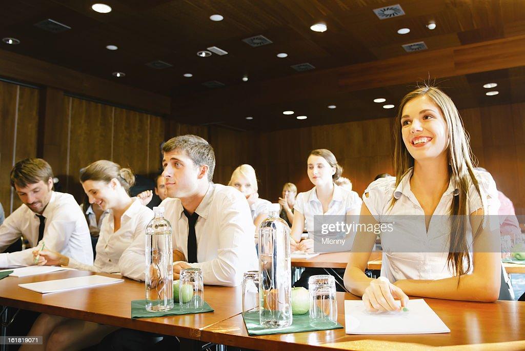 Conferência de negócios : Foto de stock