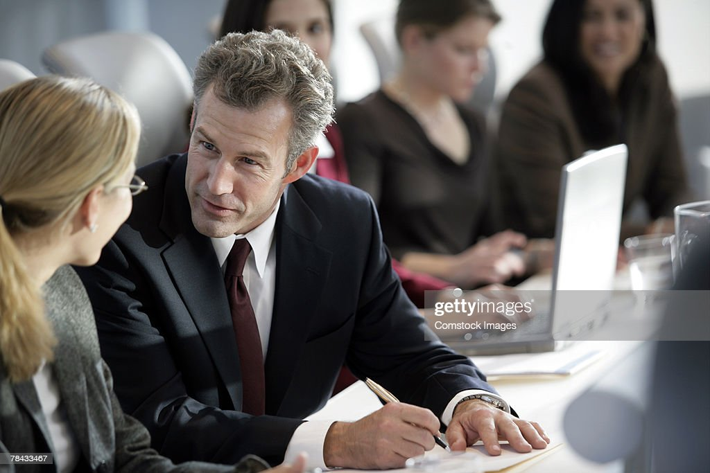 Business conference : Stockfoto