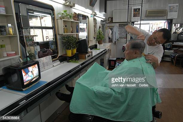 Business continues after 60 years in the barber shop made famous by the photographer Yoshito Matsushige hours after the ABomb blast Today the...
