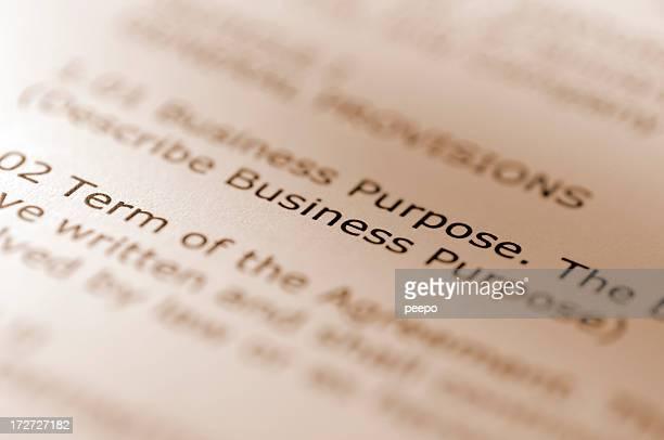 Contrato de negocios