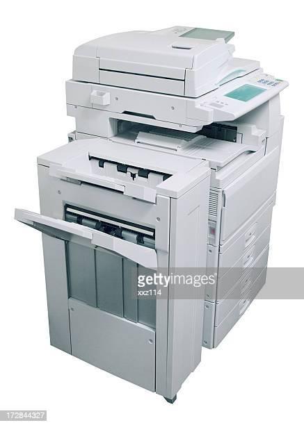 Affaires, un photocopieur et un télécopieur