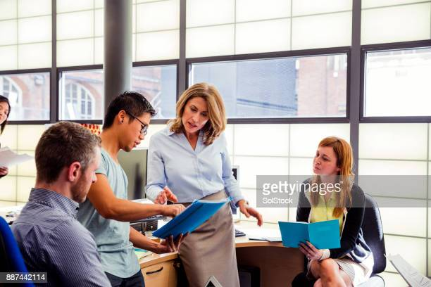 Business Co-Workers in Meeting at Office