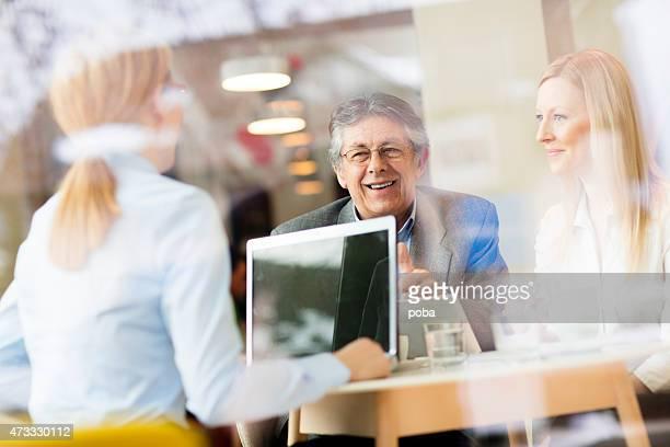 business coworkesr  enjoying coffee break