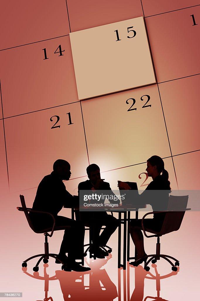 Business deadline concept : Stockfoto