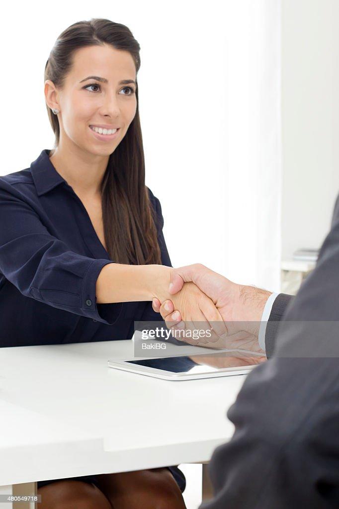 Acuerdo de negocios : Foto de stock