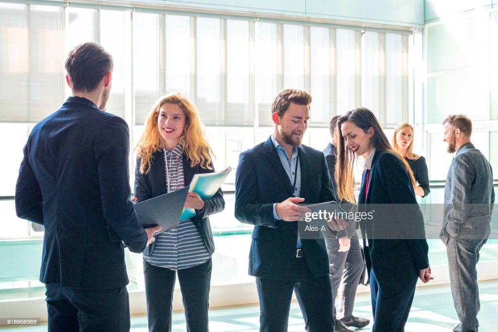 Business discussion : Stock Photo