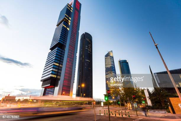 Distrito de negocios en Madrid