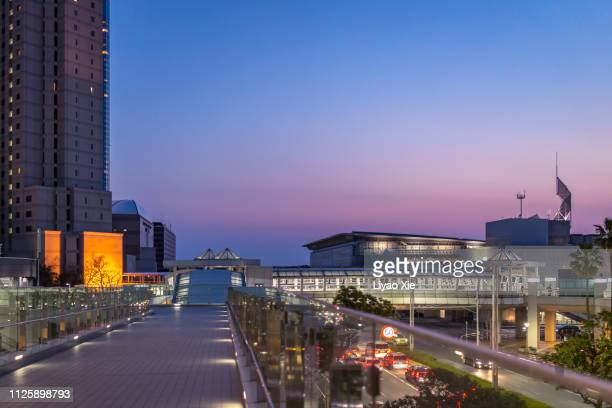 business district - liyao xie stock-fotos und bilder