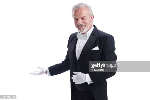 business elderly men - formal glove stock pictures, royalty-free photos & images