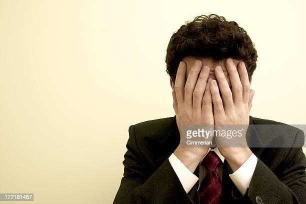 emoções-problemas de negócios#3 - só um homem jovem imagens e fotografias de stock