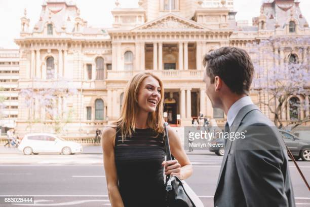 business encounter - local government building stock pictures, royalty-free photos & images
