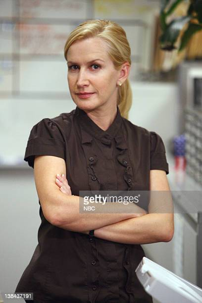 """Business Ethics"""" Episode 2 -- Pictured: Angela Kinsey as Angela Martin"""