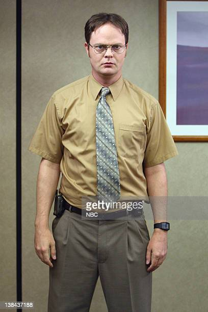 THE OFFICE Business Ethics Episode 2 Pictured Rainn Wilson as Dwight Schrute