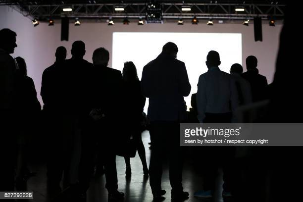 business event - press conference stock pictures, royalty-free photos & images