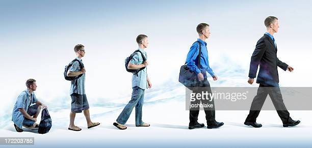 business evolution - sequential series stock pictures, royalty-free photos & images