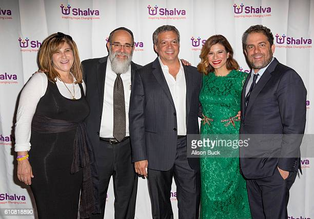 Business executive and producer Amy Pascal Founder of Shalva Kalman Samuels producer Michael De Luca actress Angelique Madrid and director/producer...