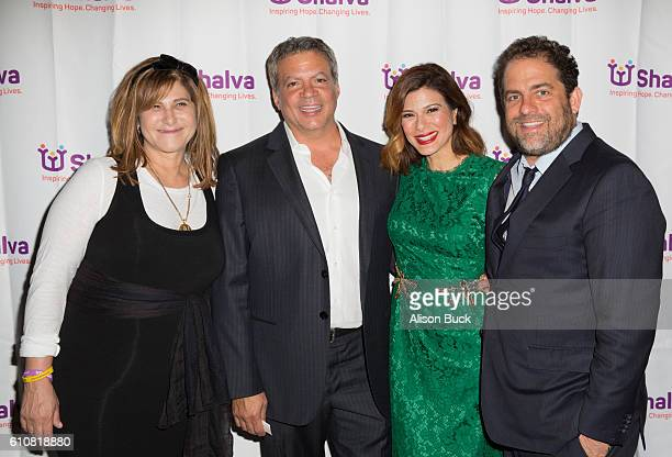 Business executive and producer Amy Pascal producer Michael De Luca actress Angelique Madrid and director/producer Brett Ratner attend the Spirit Of...