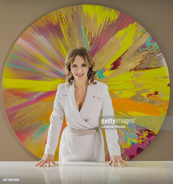 Business executive Angelica Fuentes is photographed for Vanity Fair Magazine on March 26, 2015 in Mexico City, Mexico. PUBLISHED IMAGE.
