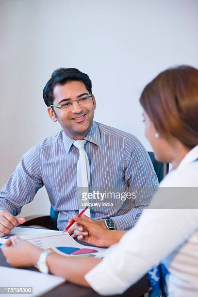 Business executive in a meeting