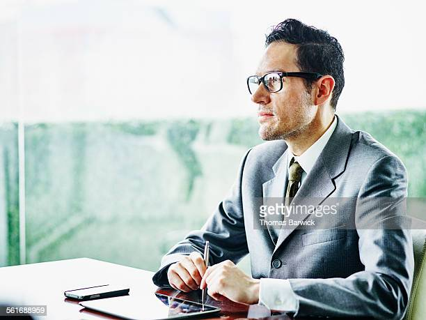 Business executive in meeting in conference room