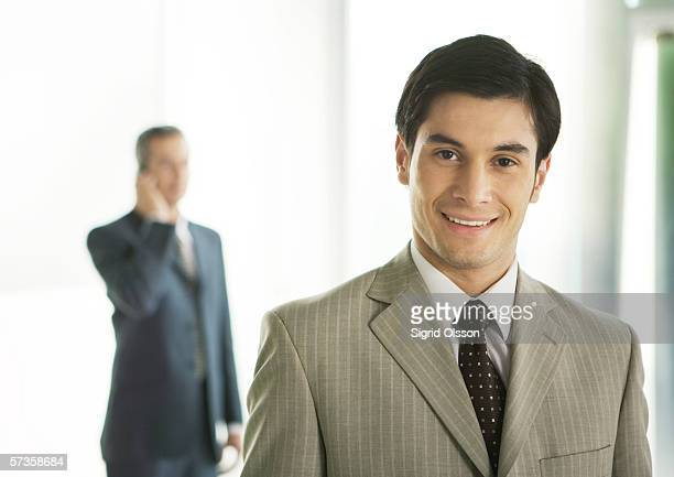 Business executive, smiling
