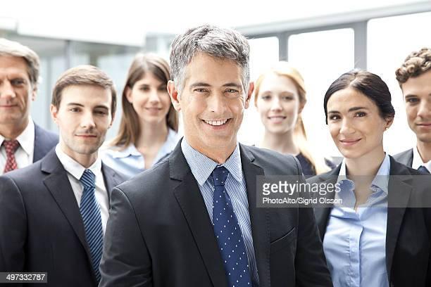 Business executives, portrait