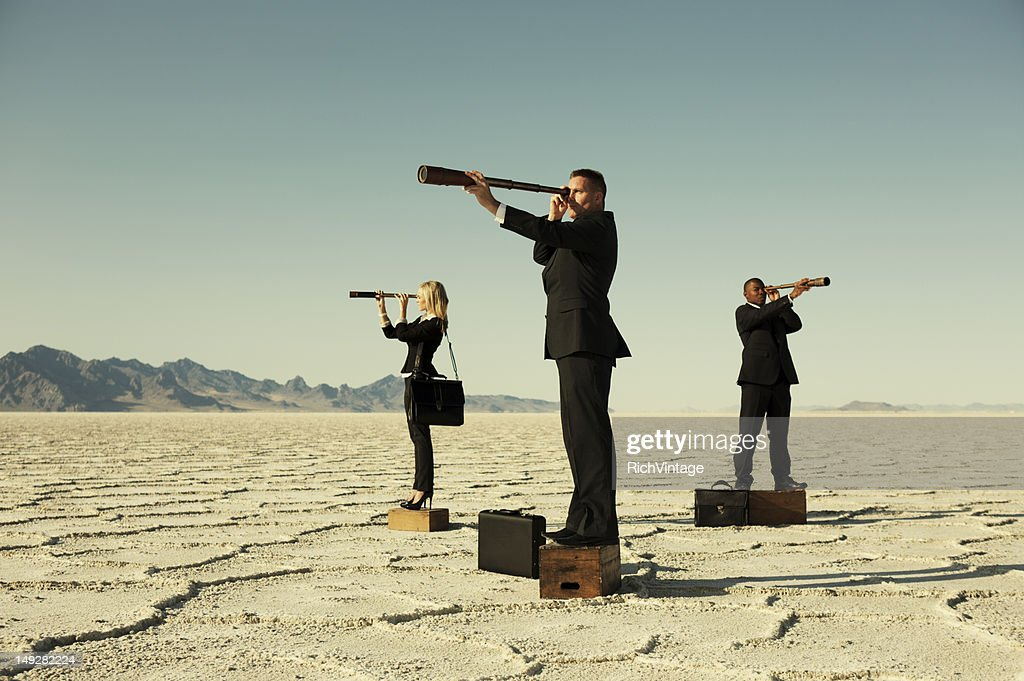 Business Forecasting : Stock Photo