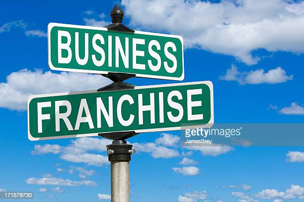 Business Franchise Street Sign