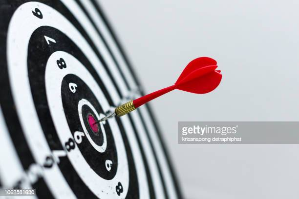 business goals concept,financial goals concept - aspiraties stockfoto's en -beelden