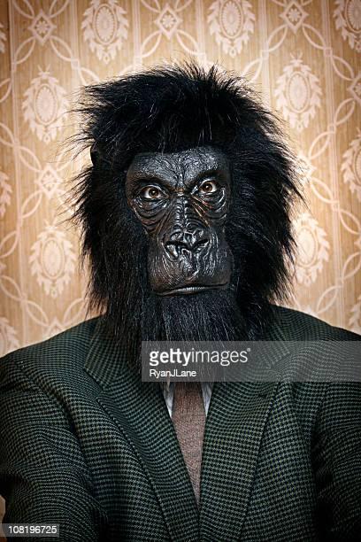 Business Gorilla Portrait