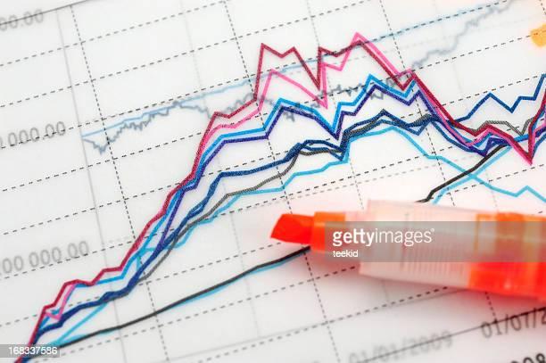 Business Graph Chart-Growth Concept-Business Finance Success