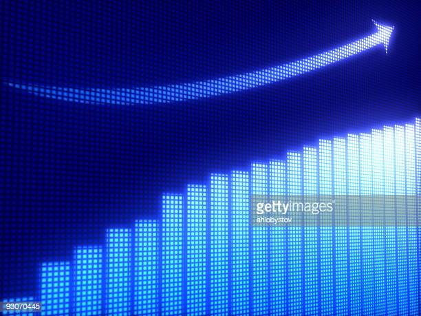 business graph - stability stock pictures, royalty-free photos & images