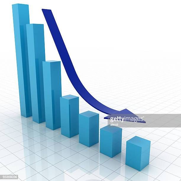 business graph - deterioration stock pictures, royalty-free photos & images