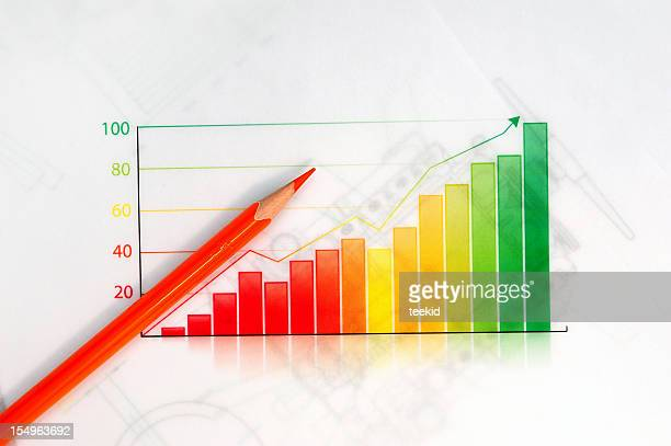 Business Graph-Growth Concept-Business Finance Success Chart