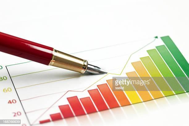 Business Graph-Growth Concept-Business Finance Success Chart