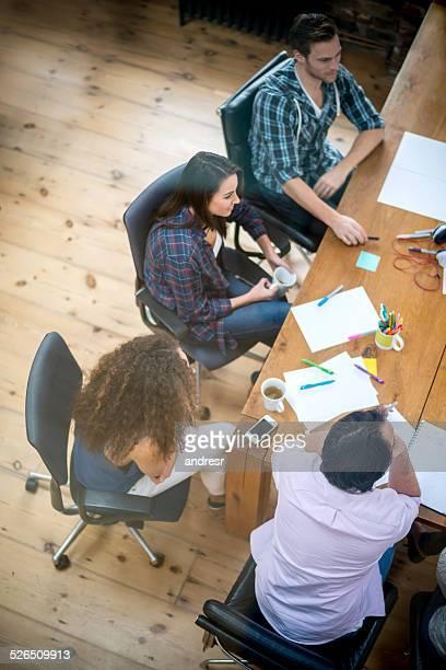 Business-Gruppe im Büro