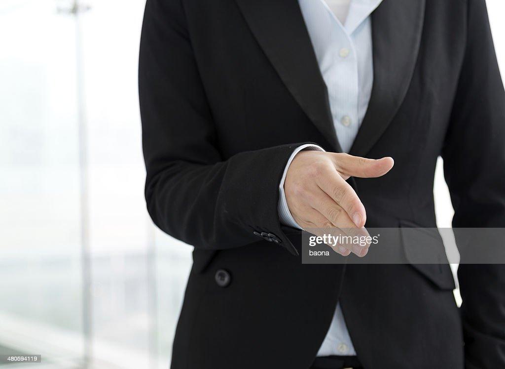 Business Handshake : Stock Photo