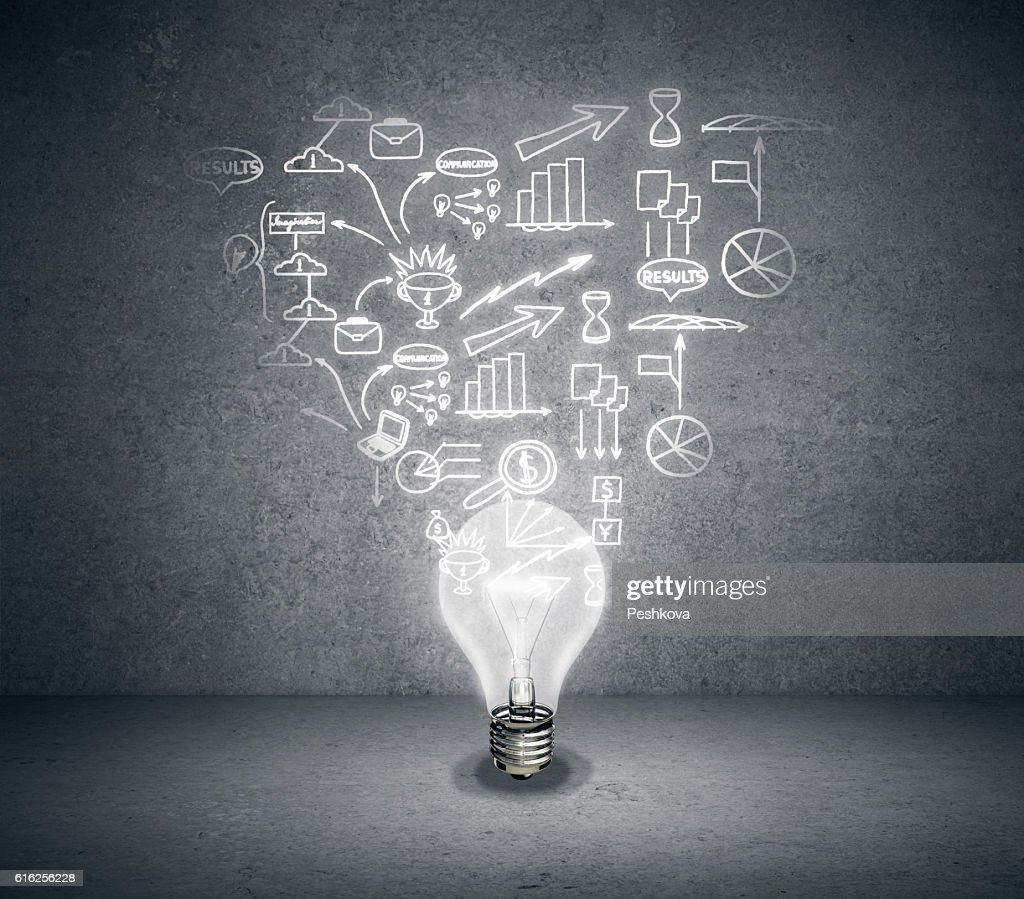 Business idea concept : Stock Photo