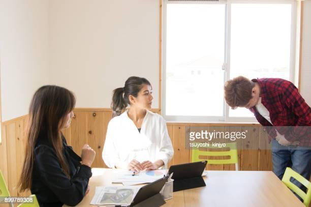 ビジネス イメージ、デスク、オフィス - 和解 ストックフォトと画像