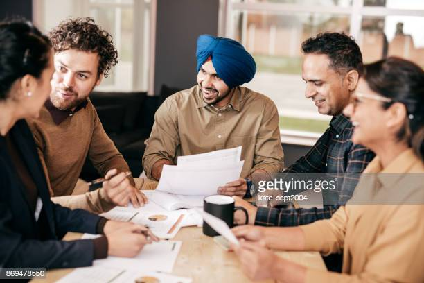 business in canada - sikh stock pictures, royalty-free photos & images