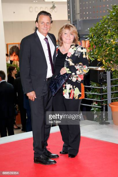Business lady Alexandra Schoerghuber and her husband Bernd Werndl during the German Media Award 2016 at Kongresshaus on May 25 2017 in BadenBaden...